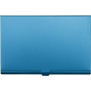 Alumínium névjegykártya tartó, kék